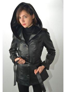 Veste Cuir Femme MURPHY FANNY Noir