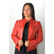 blouson cuir femme giovanni melania rouge murphy cuir. Black Bedroom Furniture Sets. Home Design Ideas