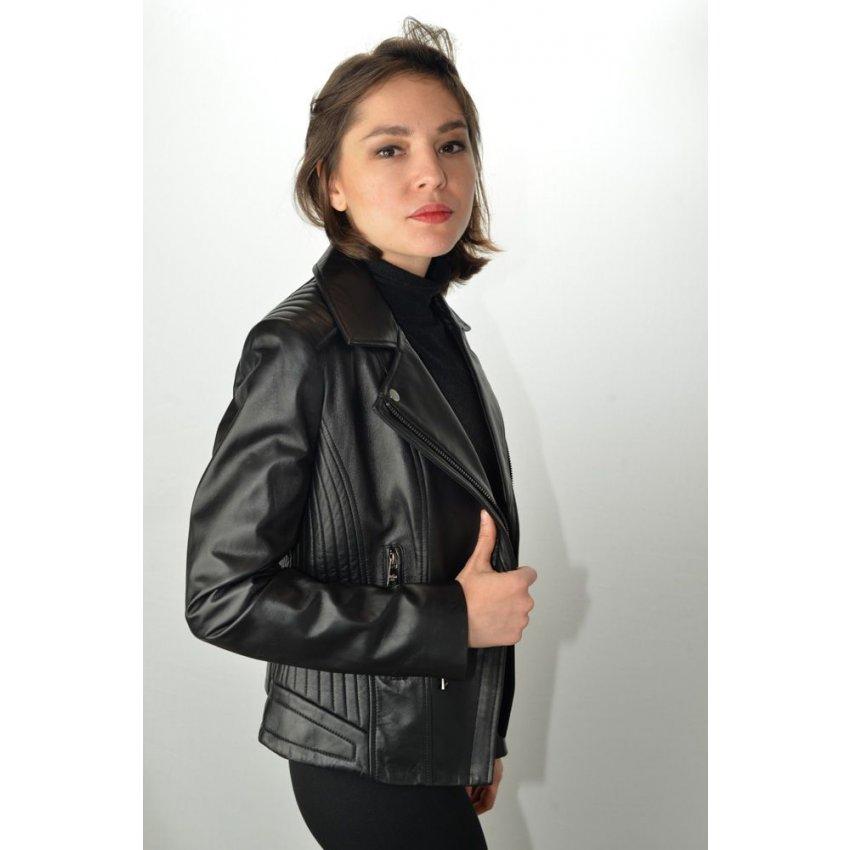 blouson cuir femme giovanni raquel noir murphy cuir. Black Bedroom Furniture Sets. Home Design Ideas