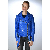 blouson cuir femme ladc diane bleu murphy cuir. Black Bedroom Furniture Sets. Home Design Ideas