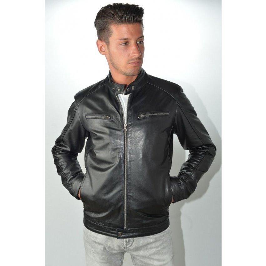 veste cuir vachette homme veste en cuir homme cuir de vachette big veste oakwood veste en cuir de va. Black Bedroom Furniture Sets. Home Design Ideas