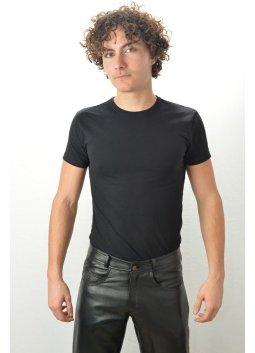 Pantalon Cuir Homme LAST REBELS JEANS Noir