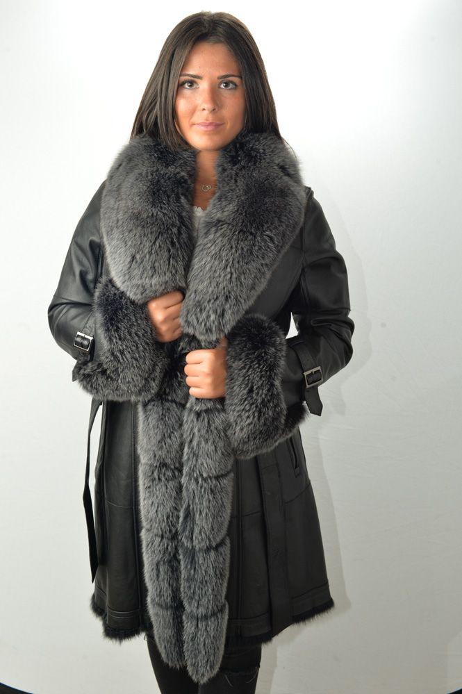 Manteau sud express noir