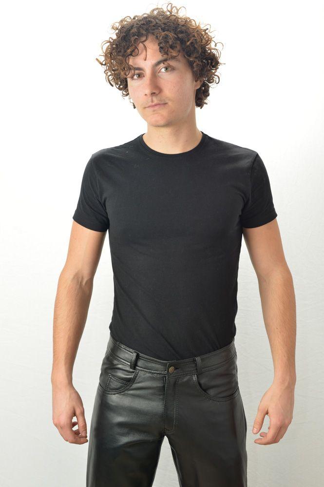 pantalon cuir homme last rebels jeans noir murphy cuir. Black Bedroom Furniture Sets. Home Design Ideas